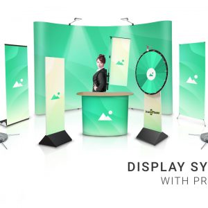 Display System With Print