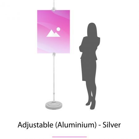 Adjustable (Aliminium)  - Silver