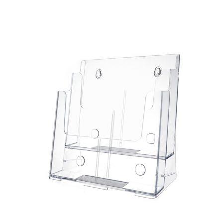 Brochure Holder (Desktop 2 Tiers) - A4 Size