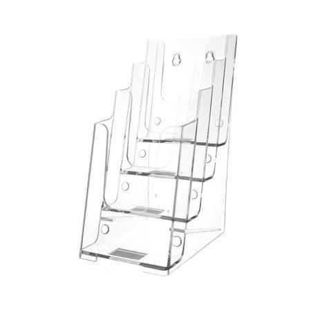 Brochure Holder (Desktop 4 Tiers) - DL Size