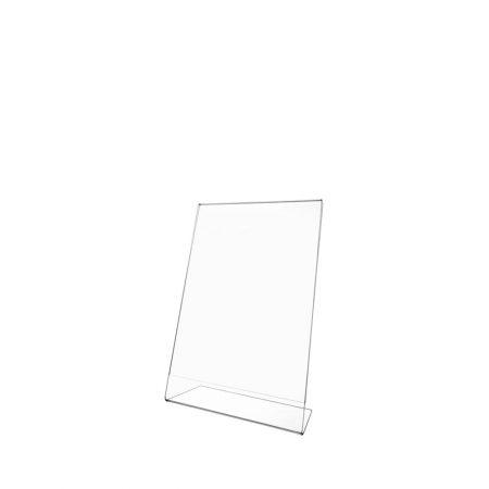 L-Shape Sign Holder (Portrait) A6 Transparent