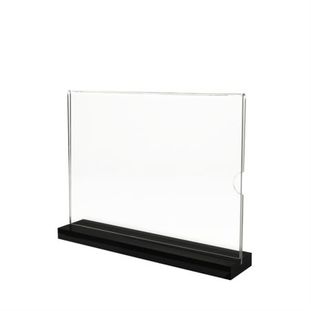T-Shape Budget Acrylic Stand (Landscape) - A4 Size
