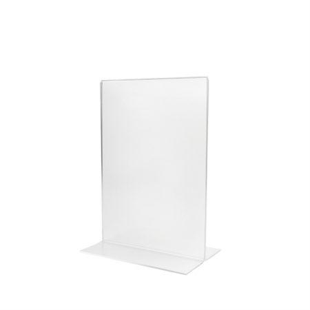 Matte T-Shape Holder (Portrait) - A5 Size