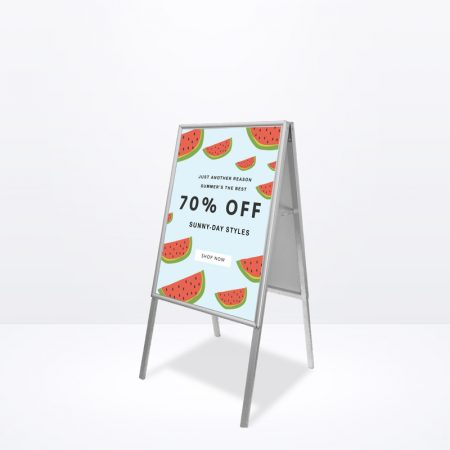 A-Stand (Silver) - A1 Size