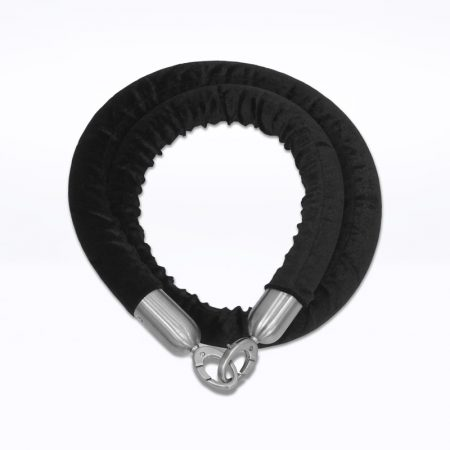 Q-Velvet Rope - Black