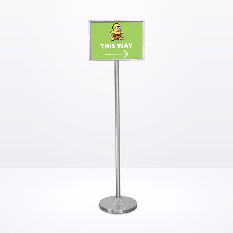 Q-Sign Stand