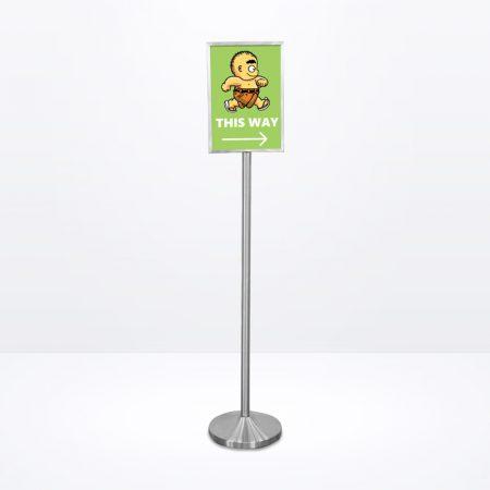 Q-Sign Stand (Portrait) - A3 Size