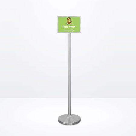 Q-Sign Stand (Landscape) - A4 Size