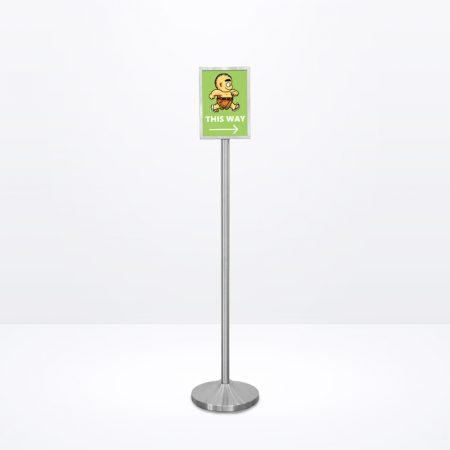Q-Sign Stand (Portrait) - A4 Size