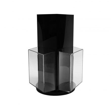 Acrylic Holder with Revolving Base - DL Size