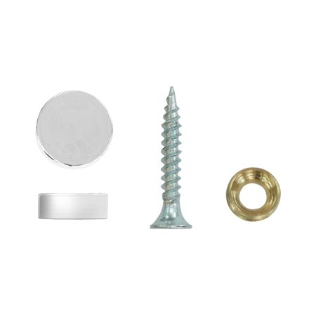 Wall Spacer (Silver) - Ø12mm x 5mm