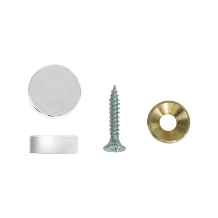 Wall Spacer (Silver) - Ø19mm x 7mm