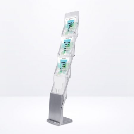 Brochure Stand (Z-Series) - A4 Size