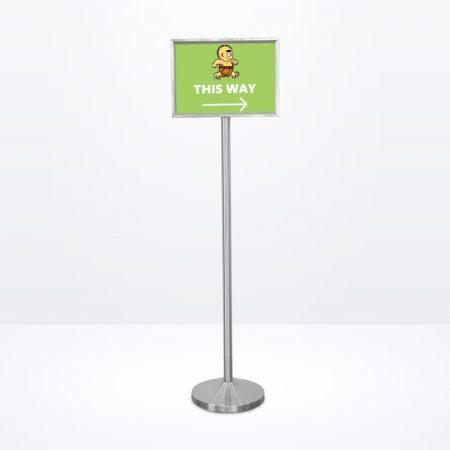 Q-Sign Stand (Landscape) - A3 Size