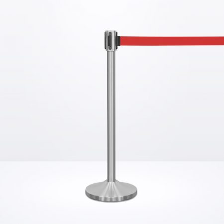 Q-Stand (Silver) - Red Belt