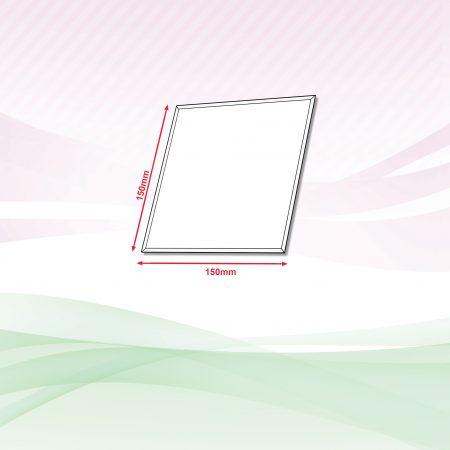 Acrylic Sign (Transparent) - 4mm x 150mm x 150mm