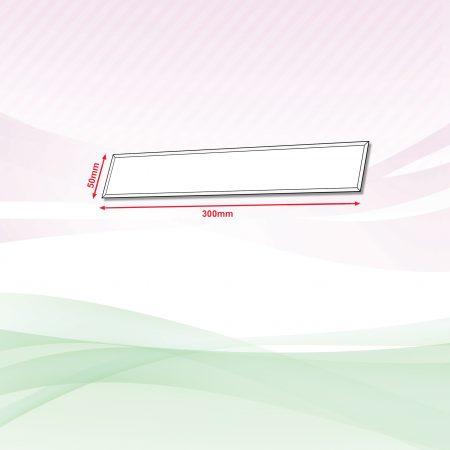 Acrylic Sign (Transparent) - 4mm x 50mm x 300mm