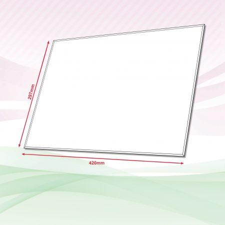 Acrylic Sign (Transparent) - 4mm x 297mm x 420mm
