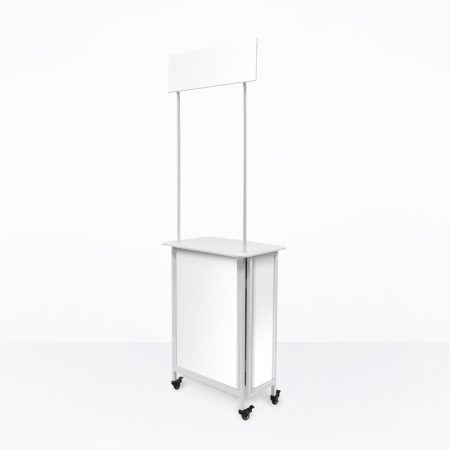 Mobile Promotion Counter (System Only) - Small with Blank Boards