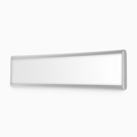 Door Sign (System Only) (Silver) - 50mm x 250mm