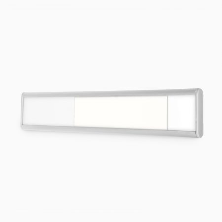 Door Sign with Silder (System Only) (Silver)