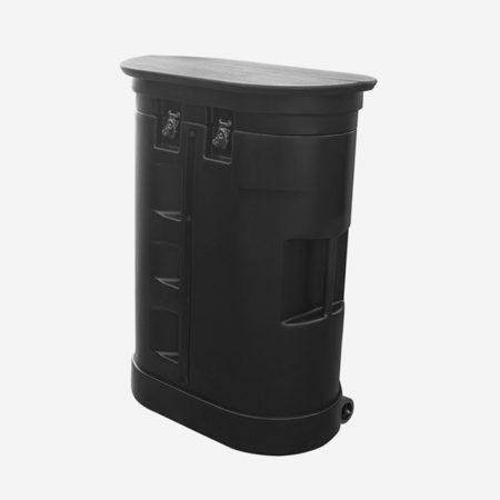 Oval Shape Hard Case (System Only)