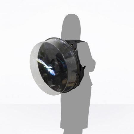 Man Pack 3D Hologram LED Fan
