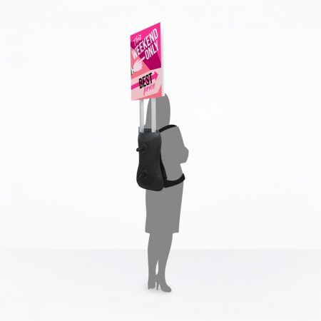 Man Pack Mobile Sign (Print Only)