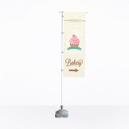Flag stand (Print Only) - 500mm x 1500mm