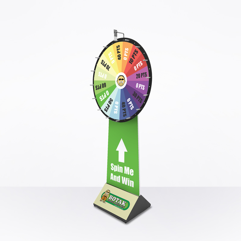 Wheel Of Fortune (Print Only) - Large