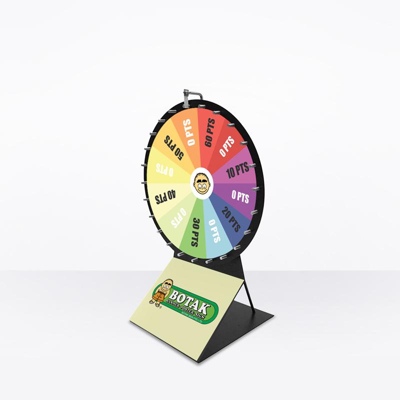 Wheel Of Fortune (Print Only) - Medium