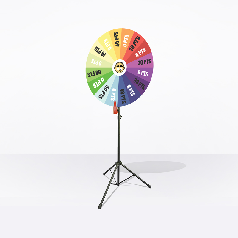 Disposable Wheel of Fortune (Print Only)